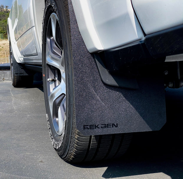 Trophy Sport Mud Flaps Ram Ford Chevy Rek Gen Vehicle Protection