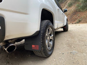 GMC Canyon/Chevy Colorado 'Merica Mudflaps