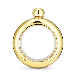 Gold Plastic Bangle Flask