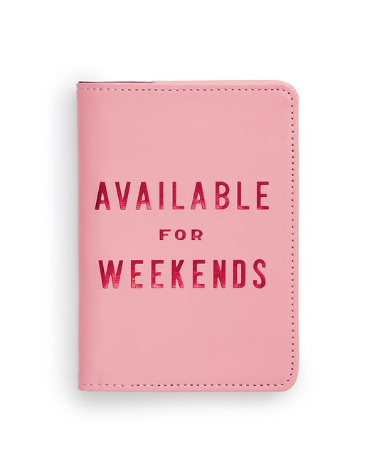 Available for weekends (Passport Cover)