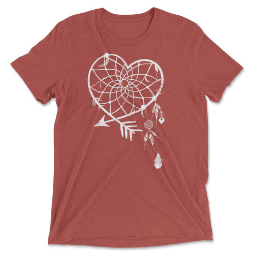 Arrow Heart Dream Catcher Graphic Tee