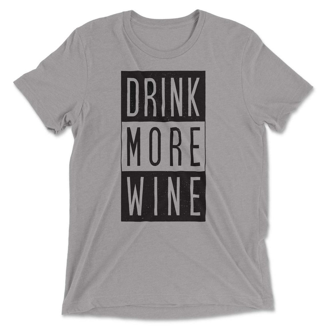 Drink More Wine Graphic T-shirt