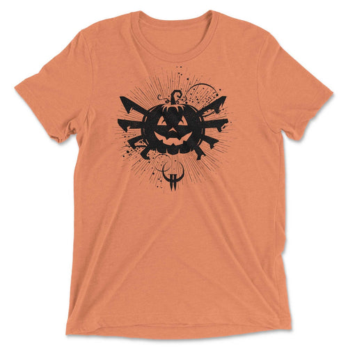 Pumpkin Spider Spooky Graphic Tee
