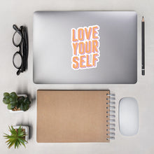 Retro Love Yourself Sticker
