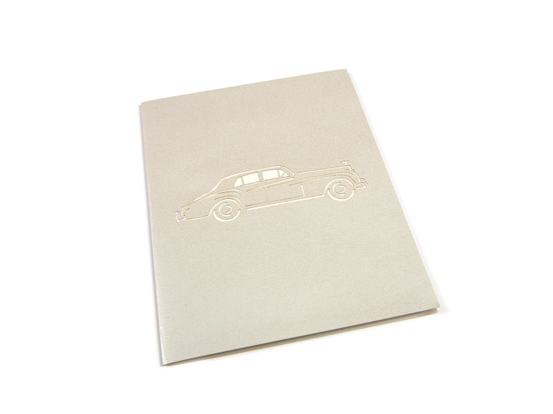 Car Pop Up Card