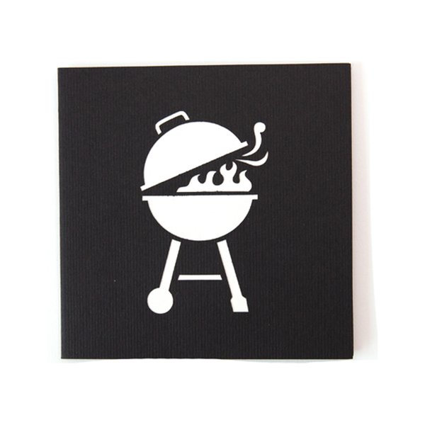 Pop Up Bbq Card
