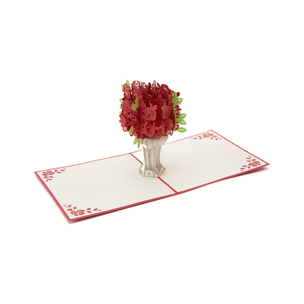Rose Pop Up Card