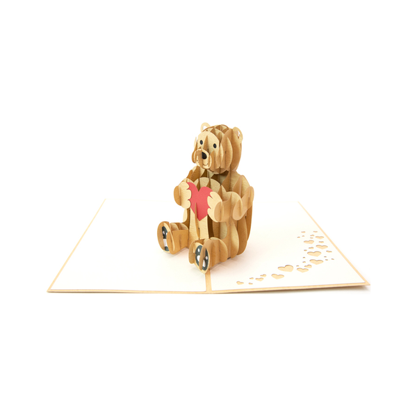 Teddy Bear Pop Up Card
