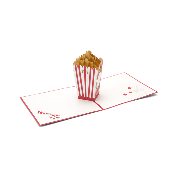 Popcorn Pop Up Card