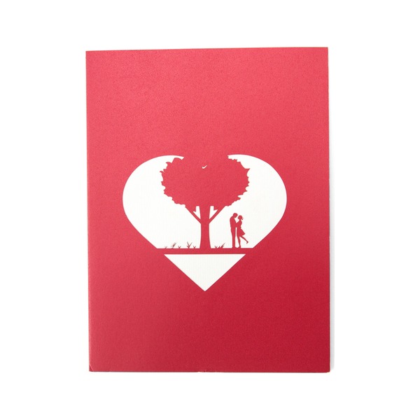 Red Love Tree