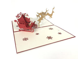 easy pop up xmas card
