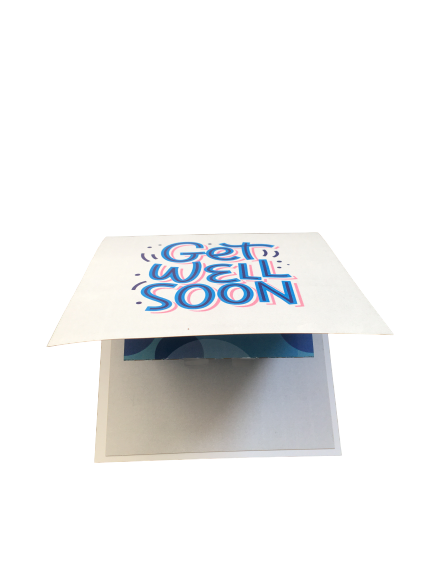 Get Well Soon Pop Up Card