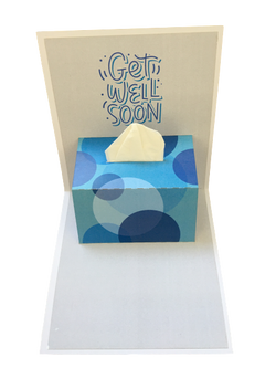 Get Well Soon - Tissue Box