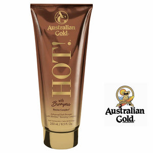 Australian Gold HOT With Bronzers. 8.5oz In Store Pickup Only.