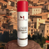 Mystic Tan Sunless Mocha Kyssed Bronzer Spray.
