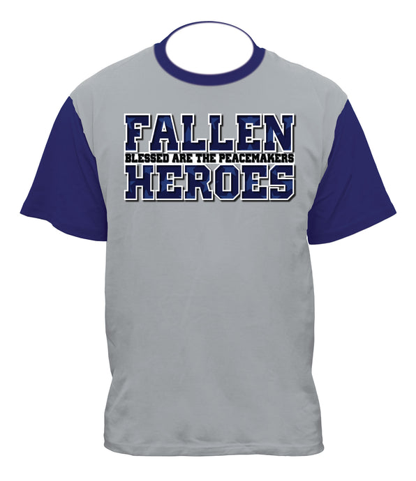 Fallen Heros Blessed Are The Peacemakers Sublimation Shirt