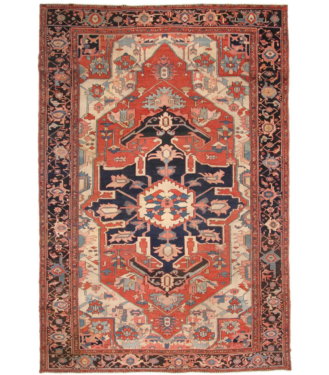 12540 SERAPI ANTIQUE PERSIAN