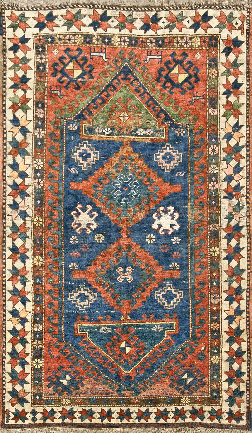 Antique Caucasian Kazak Rug Circa1900 RS425347