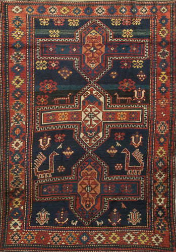 Antique Caucasian Kazak Rug Circa1900 RS535620