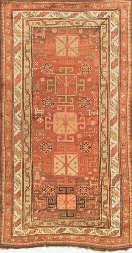 Antique Caucasian Kazak Circa 1890