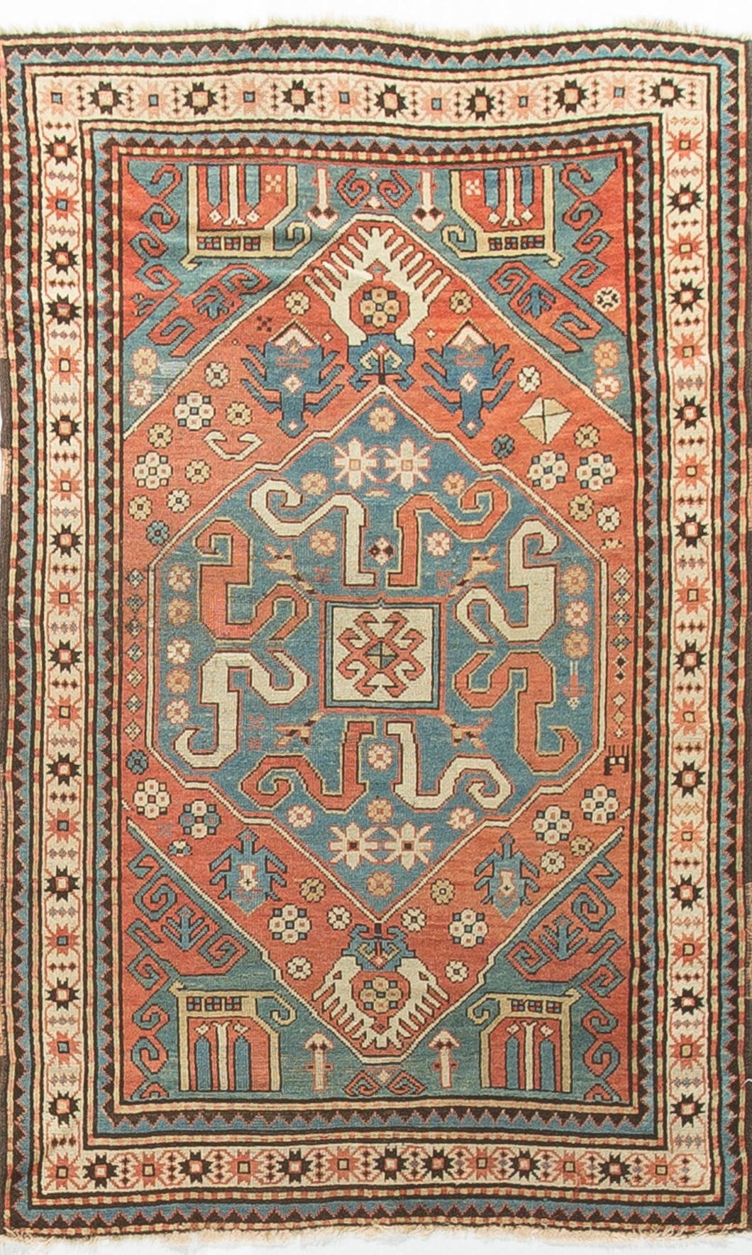 Antique Caucasian Kazak Circa 1890 RS537843
