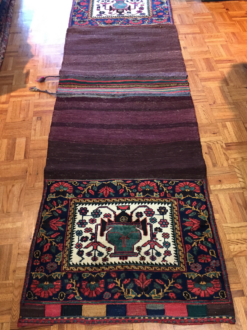 Persian Saddle Bag Rug 2' 9