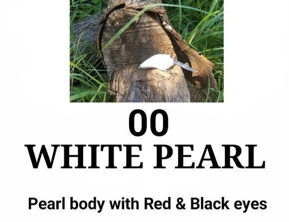 00 White Pearl LITTLE RUNT (Formerly Little Earl) (depth 7-10ft)