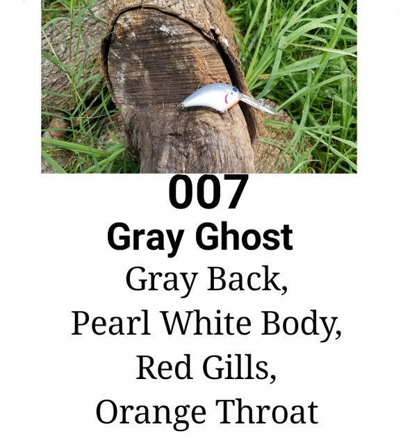 07 Gray Ghost LITTLE RUNT (Formely  Little Earl)  (depth 7-10')