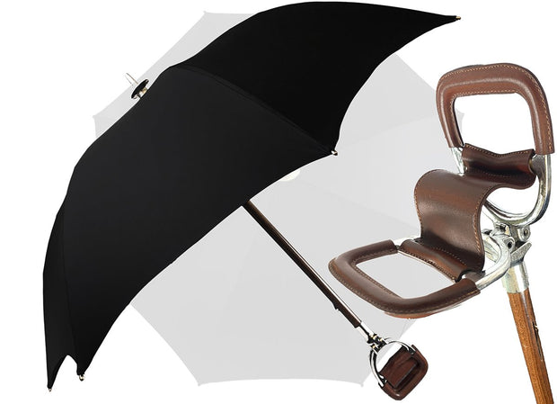 BLACK SEAT UMBRELLA