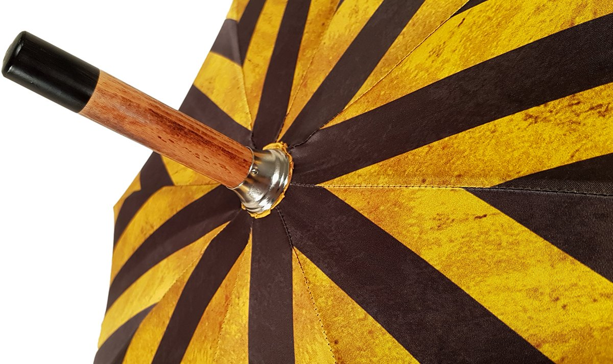 LUXURY STRIPED MEN'S UMBRELLA