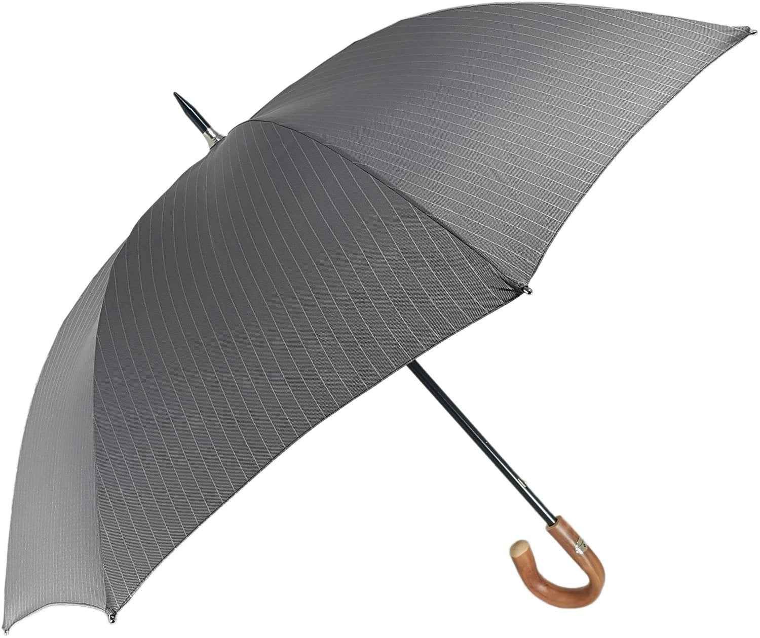 Grey Oversized Men's Umbrella - il-marchesato