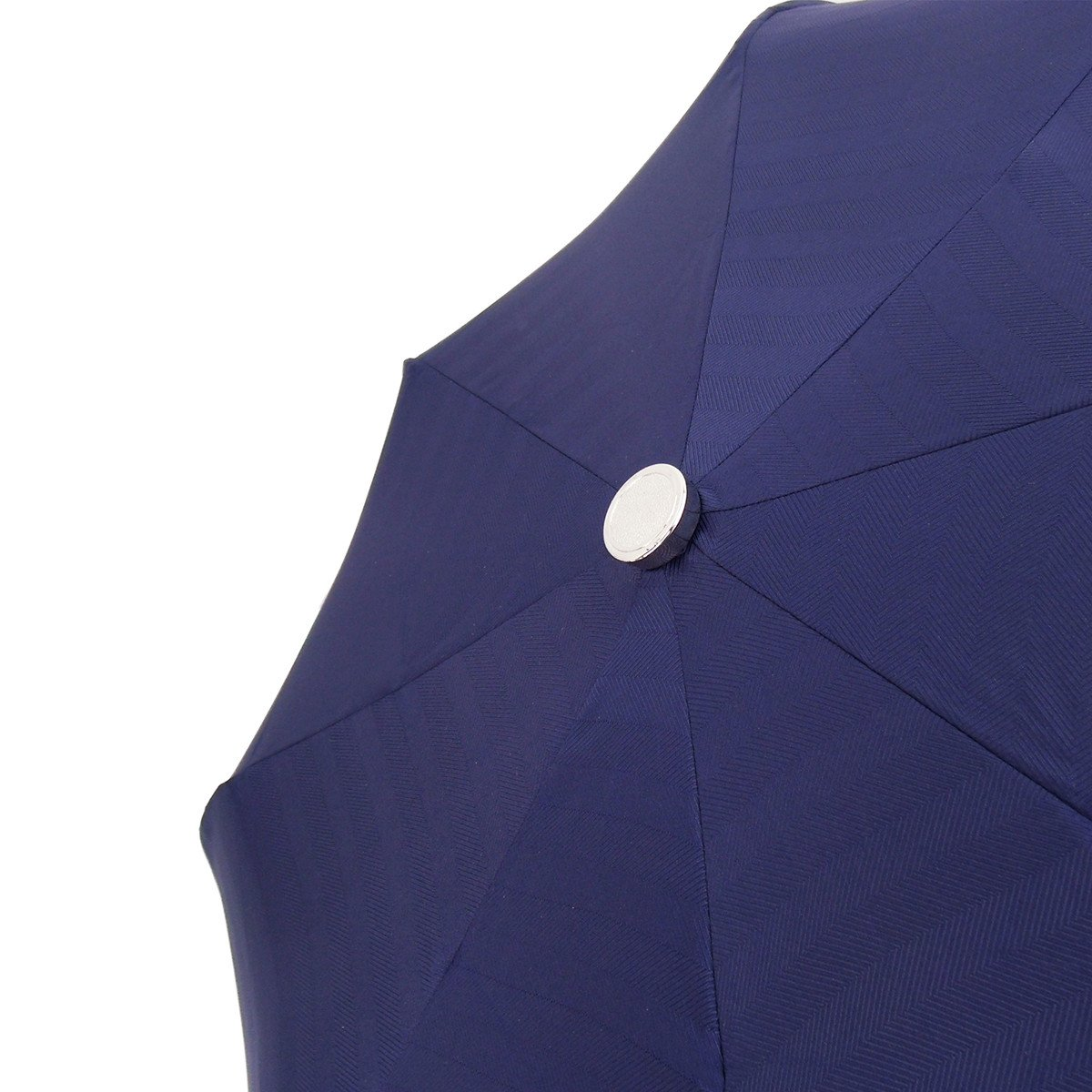 Handmade Men's Compact Umbrella in a Blue Color - il-marchesato
