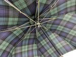 "Load image into Gallery viewer, ""Blackwatch"" Tartan Men's umbrella - IL MARCHESATO LUXURY UMBRELLAS, CANES AND SHOEHORNS"