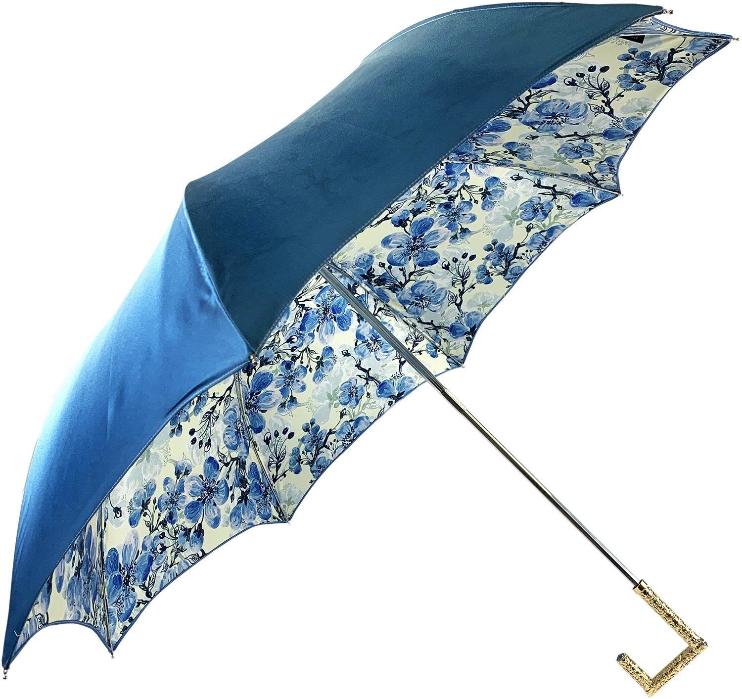 Fantastic umbrella with sugar paper color - IL MARCHESATO LUXURY UMBRELLAS, CANES AND SHOEHORNS
