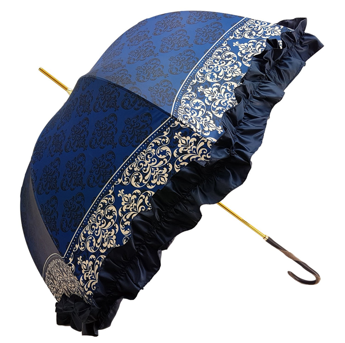 frilly umbrella made in italy
