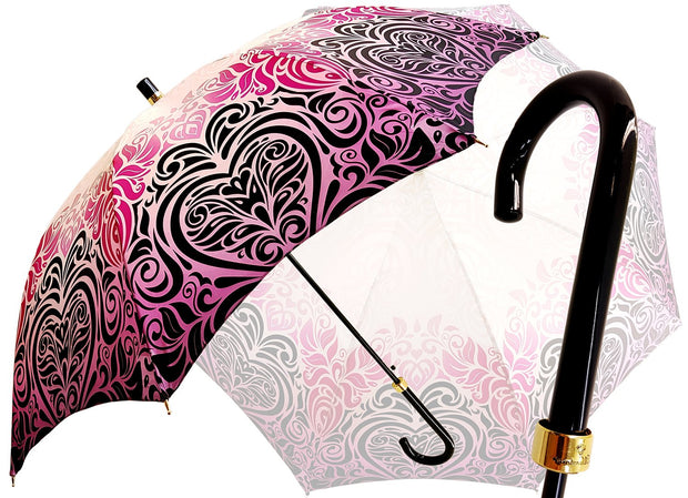 pink automatic opening umbrella
