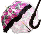 Load image into Gallery viewer, Women's Ruffled Umbrella Studied with a Multicor Pattern - il-marchesato