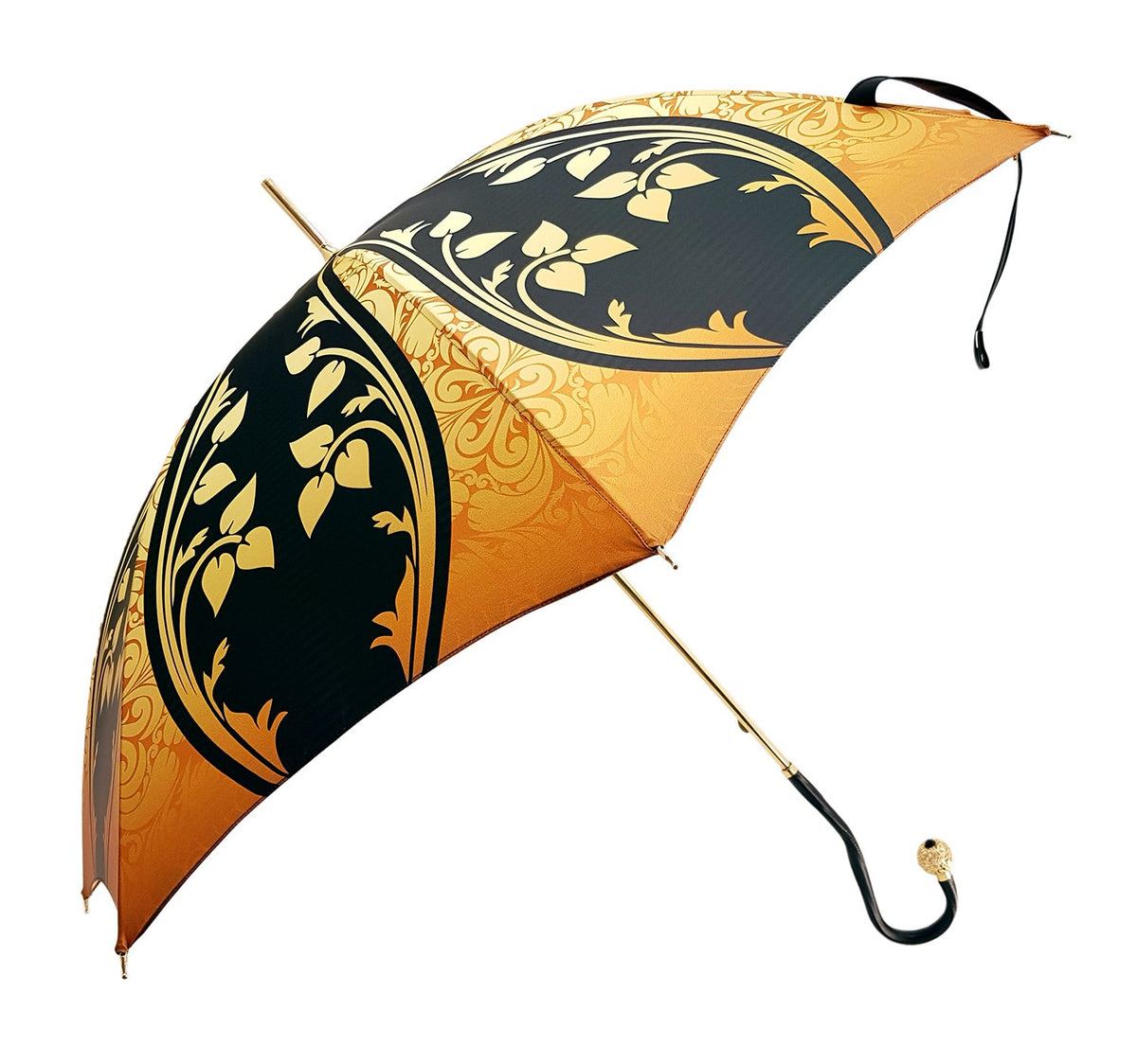 leather handle women's umbrella