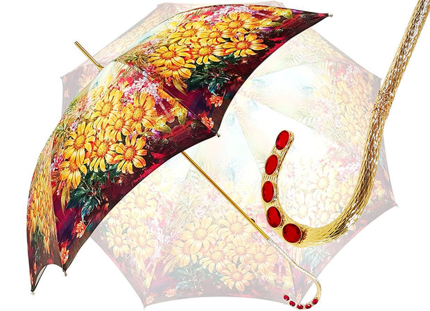 Fantastic Floral Pattern, Women's Umbrella - il-marchesato