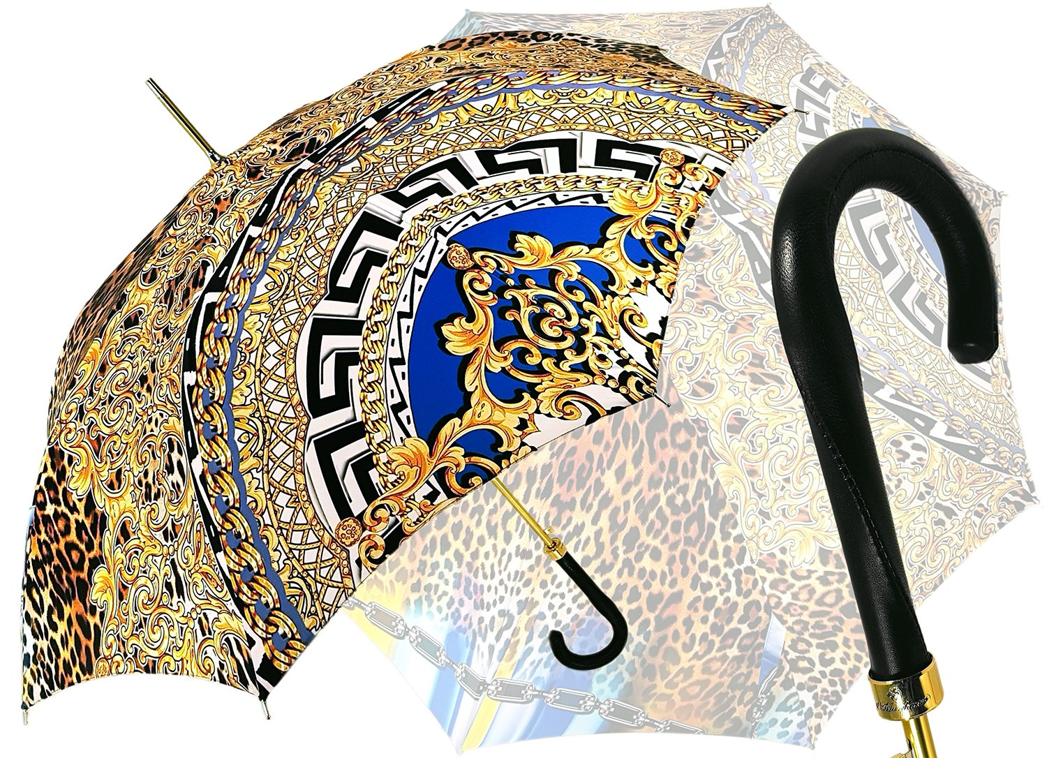 Geometric - Leopard Exclusive Umbrella - il-marchesato