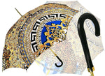 Load image into Gallery viewer, Geometric - Leopard Exclusive Umbrella - il-marchesato
