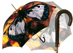 Load image into Gallery viewer, Big Butterfly Painted Umbrella - il-marchesato