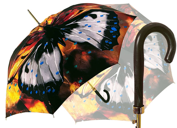 Big Butterfly Painted Umbrella - il-marchesato