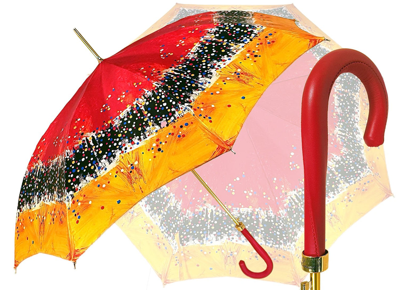 AWESOME LUXURY UMBRELLA PAINTING COLORED MARCHESATO