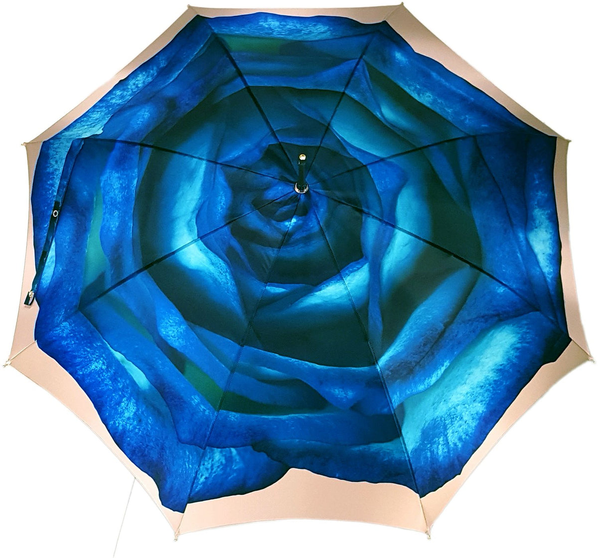 Fantastic Blu Rose Umbrella