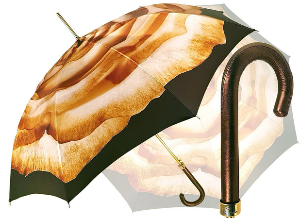 Classic cream Rose Umbrella - il-marchesato