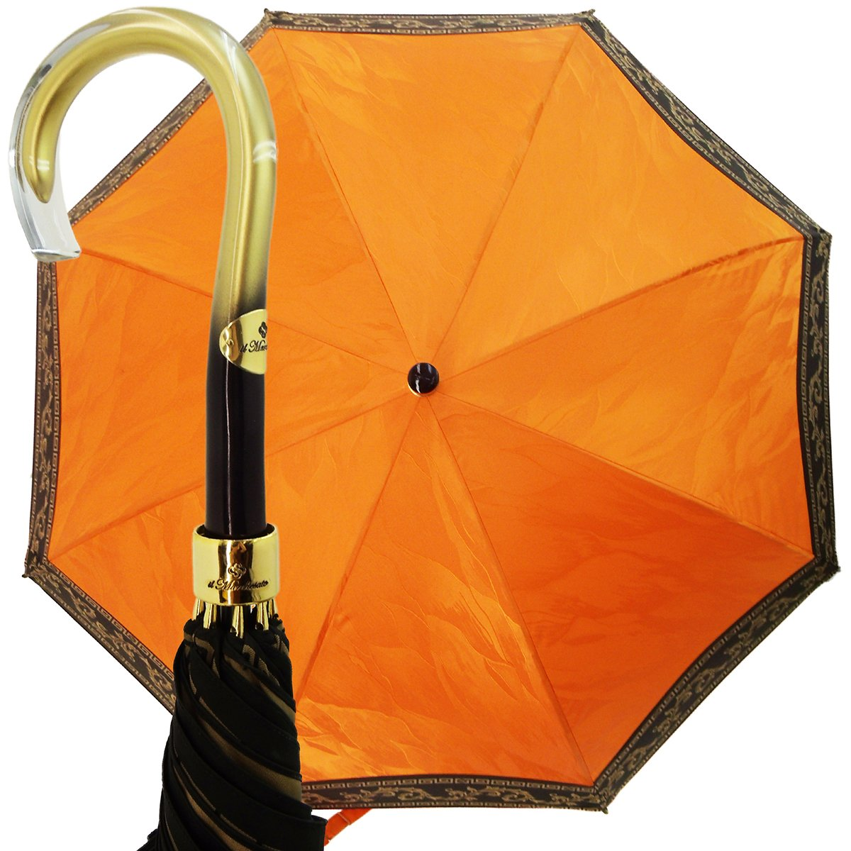 ORANGE LADIES UMBRELLA