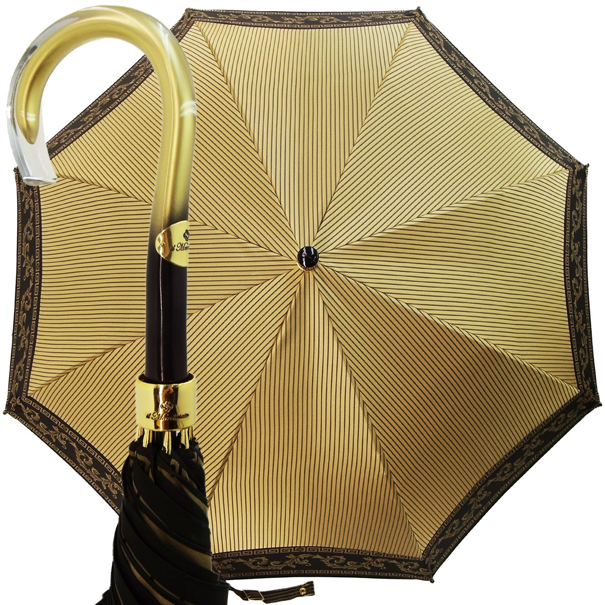 women's stripe umbrella