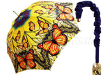 Load image into Gallery viewer, Beautiful Bright Butterflies Pattern - Fashionable Umbrella - il-marchesato