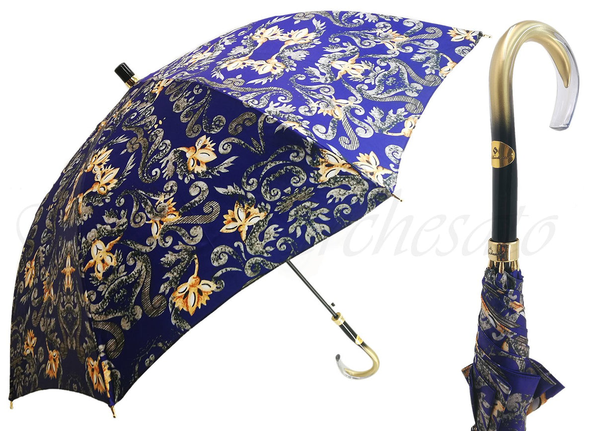 Classic Umbrella With New Printed Design - il-marchesato